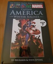 Ultimate Graphic Novels Collection Marvel Captain America Winter Soldier Issue 7