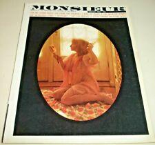 MONSIEUR~February 1962~Vintage Pin-Up Magazine~BILL WENZEL~HERB GOLDBERG*