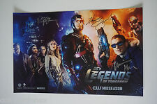 SDCC Comic Con 2015 DC Legends of Tomorrow Signed Poster Wentworth Miller +9