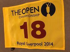2014 BRITISH OPEN ROYAL LIVERPOOL Rory Pin Flag Masters PGA US Open Golf Flag
