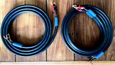 Pair Linn K400 Bi-Wire Loudspeaker cable 2 x 2,5M  with on 1 side Argon Banana's