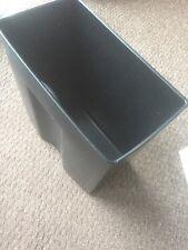 Office Black Plastic Bin