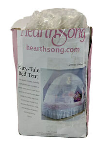 HeartSong Kids Fairy-Tale Twin Bed Tent Canopy