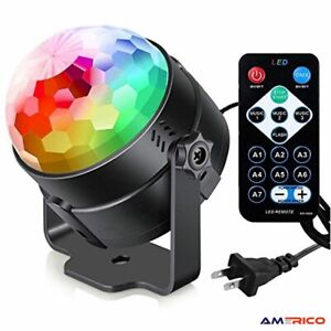 Sound Activated Party Lights with Remote Control Dj Lighting, RGB Disco Ball, St
