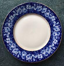 Antique Rosenthal Bavaria Germany Flo Blue Blea Royal Flowers Roses Dinner Plate