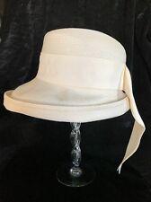 Vintage Beresford Womens Hat Cream Off White Made USA