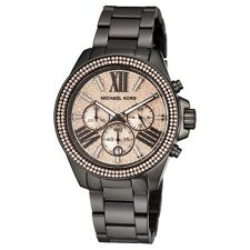 Michael Kors Everest Chronograph Rose Dial MK5879 Womens Watch