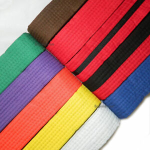 New Taekwondo Belt Karate Belts Martial Arts MMA Hapkido Double Wrap Color Belts