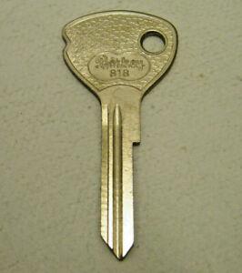 Car B Key Blank Opel Admiral Kadett Rekord OLYMPIA - Profile : Ff