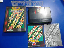 "World Heroes 2 [NTSC-U] USA US - SNK Neo Geo AES ""Guillemot"""