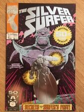 SILVER SURFEUR #50 NM 50th commémoration question Spectacular Marvel Comics FOIL