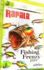 Rapala: Fishing Frenzy 2009 XBOX360 REPLACEMENT manual ONLY (NO GAME)