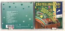Cd CASTELLINA PASI Vol 37 Sogni nel cassetto - 1997 Liscio Orchestra Volume