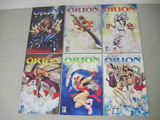 COMPLETE SET OF MASAMUNE SHIROW'S ORION #1-6 DARK HORSE LIMITED SERIES MANGA