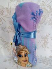 "DIsney Frozen Fleece Throw Travel Blanket 40""x50"" Crib Size NEW Super soft"