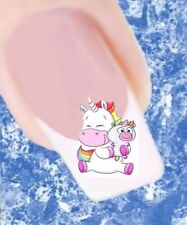20 Nail Tattoos Einhorn Unicorn 101 Sticker Nailart
