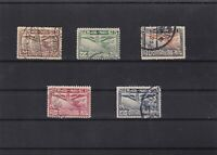 thailand 1925 air stamps ref 11556
