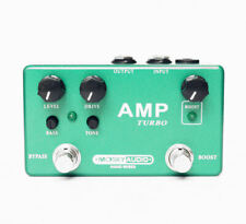 Mosky AMP TURBO Handmade Preamp Overdrive + Boost Guitar Effect True Bypass New