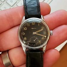 """Rare c1942 WW2 German Air Force-issue """"D"""" Alpina 592 Vintage Gents Watch"""