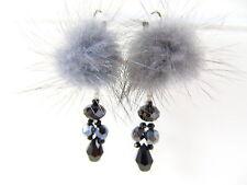 Mode-Ohrschmuck mit Kristall-Hauptstein und Tropfen-Schliffform für Damen
