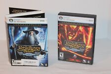 Lord of the Rings Online: Mines of Moria Complete Edition (PC, 2008) VG