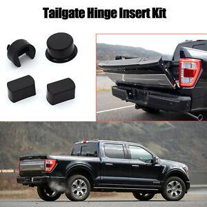 4Pcs Tailgate Hinge Pivot Bushing Insert Kit For Ford F-Series Trucks Dodge Ram