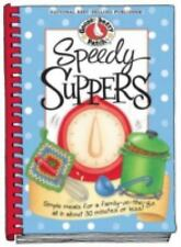 Gooseberry Patch Speedy Suppers Hard Cookbook Recipe Book NEW