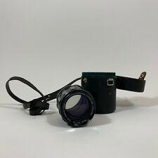 Asahi Pentax 105mm f2.8 Super-Multi-Coated Takumar Lens for M42 Mount w/ Case