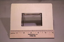 """Scrapbooking Frame New Raw Unfinished Wood Craft 6"""" x 5"""" Made in USA!"""