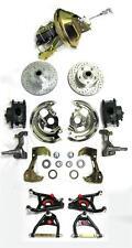 Chevy Camaro Firebird Power Disc Brake Conversion Kit + Tubular A-Arms Slotted