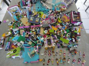 Lego 4,4 kilo Kg VRAC Récent FILLE FRIENDS VILLE RARE 41106 BUS 41130 + extra