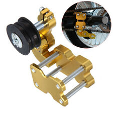 Portable Motorcycle Golden Aluminum Adjuster Chain Tensioner Bolt On Roller Tool
