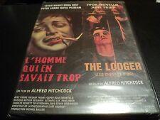 """DVD 2 FILMS """"L'HOMME QUI EN SAVAIT TROP / THE LODGER"""" Alfred HITCHCOCK"""