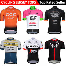 2021 Men Cycling Jersey Bike Short Sleeve Tops Team Bicycle Uniform Racing Shirt