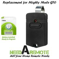 For GTO Mighty Mule Gate Opener Remote Control Transmitter RB741 FM135 PRO