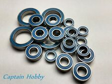 (Blue)Rubber Sealed Ball Bearing Set AXIAL SCX10 / SCORPION (28pcs) Cap