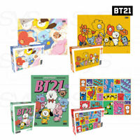 BTS BT21 Official Authentic Goods 500pieces JIGSAW PUZZLE 4type+ Tracking Number