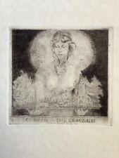 Bookplate, Ex Libris, Theermann Erwin, C3 , Akt, signiert in der Platte, RAR