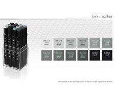Touch Twin marker set 12er Cool Grey set fría gris