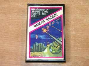 Sinclair ZX81 - Namtir Raiders by Artic Computing