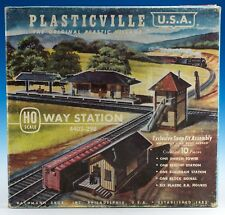 Vintage Bachmann Plasticville Way Station w/Box HO Scale 4402-298 Switch Tower