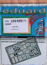 Eduard 1/72 ss565 colore zoom Etch per REVELL SAAB jas-39d dei KIT