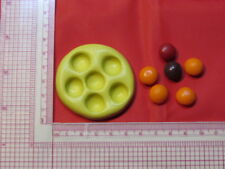 Candy pieces Silicone Mold Polymer Clay Resin A979 For Edible Crafts