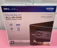 Brand New Brother MFC-J480dw Wireless Duplex Color Inkjet All-in-One Printer MIB