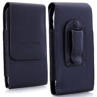 PU Leather Elastic Belt Pouch Holster Holder Clip Case Cover for Mobile Phone