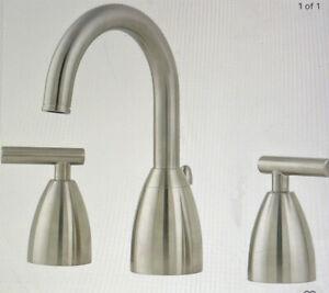 Pfister Contempra LF-049-NKOO 2 Handle Widespread Bathroom Faucet Brushed Nickel