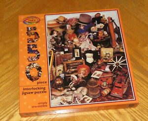 Linda Svendsen Simply era-sistible Antiques - Vintage 550 Piece Puzzle - Sealed
