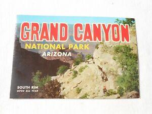 Vintage 1957 Grand Canyon National Park Souvenir Book Hopi House Indian Dancers