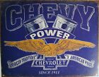 Vintage Replica Tin Metal Sign Chevrolet Power Parking Chevy Bowtie Ss Gm 2199