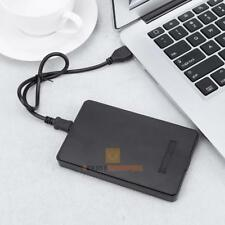 "USB2.0 to IDE PATA 2.5"" HDD Hard Drive Disk External Enclosure Case Box + Bag"